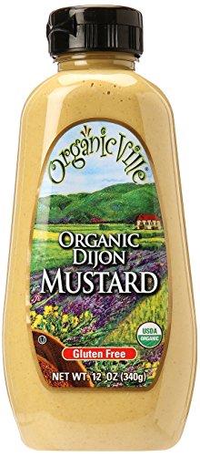 Organicville Dijon Organic Mustard, 12 oz by Organicville