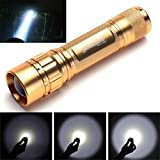 Sunsee 15000LM 3T6 LED Zoomable Flashlight Waterproof Torch Light Lamp 18650