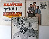 The Beatles Yesterday And Today and HELP and Revolver 3 Mono LP RECORDS