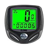 YuFLangel Bicycle Speedometer And Odometer Wireless Waterproof Cycle Bike Computer With LCD Display & Multi-Functions