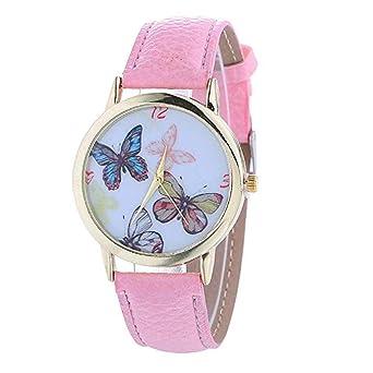 Relojes de Mariposa para Mujer, Relojes de Moda únicos para Mujer Relojes