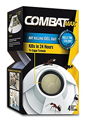 Combat Max Ant Killing Gel Bait, 4 Count