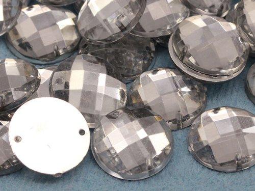 /100/Pi/èces CH38/en cristal 10/mm rond /à dos plat perles /à coudre pour les travaux manuels/