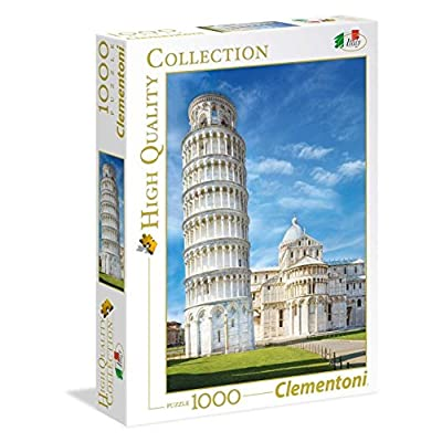Clementoni 39455 High Quality Collection Puzzle Pisa 1000 Pezzi