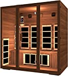 JNH Lifestyles MG401RB MG417RB Far Infrared Sauna with Cedar Wood
