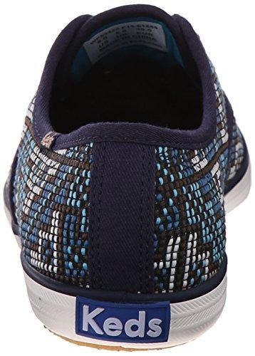 Keds Kvinners Mester Needlepoint Mote Sneaker Navy Keds Kvinners Mester  Needlepoint Mote Sneaker Navy ...