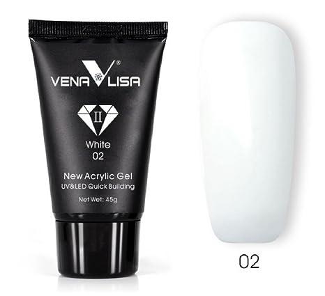 Venalisa - Gel de uñas acrílico, 45 g, para extensiones de uñas, camuflaje