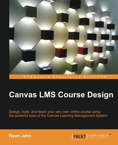 Price comparison product image Canvas LMS Course Design
