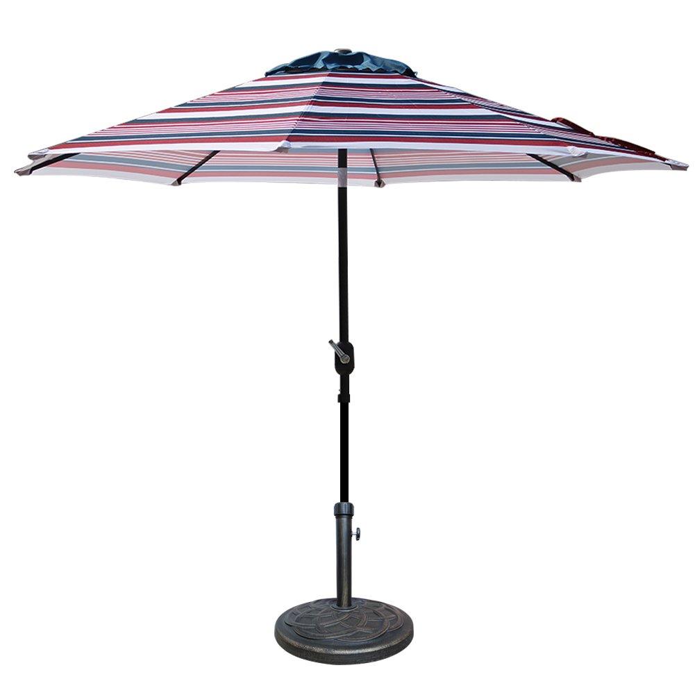Blissun Heavy Duty Patio Market Umbrella Base Stand Concrete