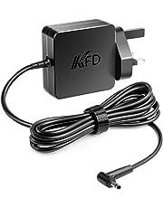 KFD 19V 1.75A 2.37A 33W Laptop Adapter for ASUS X556U X541UA X540LA X553M X200CA X441SA X542BA L402na L403sa E402SA C300M S410UA Taichi 21 31 UX305F UX410UA TX201LA UK Charger AD891M21 Power Supply
