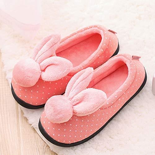 E Pantofole Antiscivolo Pink 40 colore Le Caldo Huyp Incinte Dimensioni Tengono Red Primavera Donne La L'autunno 8r8aq