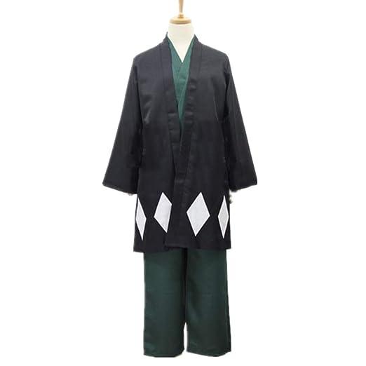 YKJ Anime Cosplay Personaje de Anime Kimono Negro y Traje de ...
