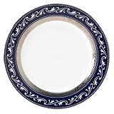 Noritake Crestwood Cobalt Platinum Accent Plate, 9-inches