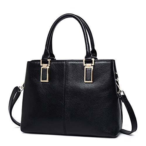 Bag Messenger Diana JPFCAK Shoulder Bag Black Bag Leather Handbags Handbag Wild Ladies Leather U8HT8Y
