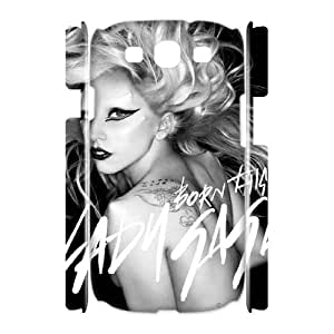 D-PAFD Lady Gaga Customized Hard 3D Case For Samsung Galaxy S3 I9300