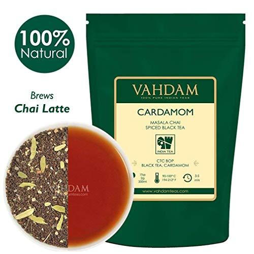 VAHDAM, Cardamom Chai Tea Loose Leaf  | 100% NATURAL CARD