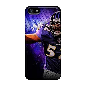 Best-phone-covers Iphone 5/5s Bumper Hard Cell-phone Case Unique Design High-definition Baltimore Ravens Series [uBy4912sBuv]