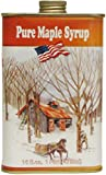 Ferguson Farms 100% Pure Vermont Maple Syrup, Grade A Dark, Classic Tin Pint (16oz)