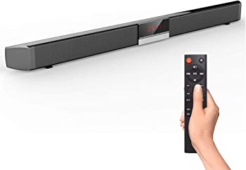 BWXJH 2.0 Channel Wired & Wireless Bluetooth Stereo Soundbar