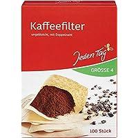 Varje dag filterpåsar kaffe storlek 4, 100 stycken, 223 g