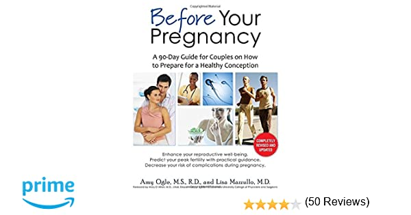 Before Your Pregnancy: A 90-Day Guide for Couples on How to ...