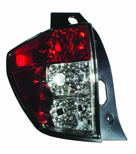 Depo 320-1912L-US Subaru Forester Driver Side Tail Lamp Lens and Housing