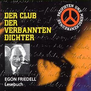 Egon Friedell (Der Club der verbannten Dichter) Hörbuch