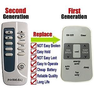 Generic Frigidaire Air Conditioner Remote Control