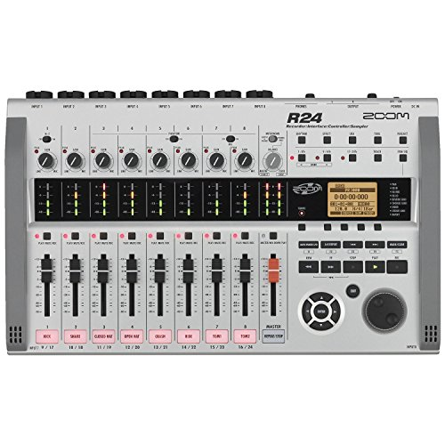 Zoom R24 Multitrack Recorder, Interface, Controller, Sampler with 1 Year Free Extended Warranty ()