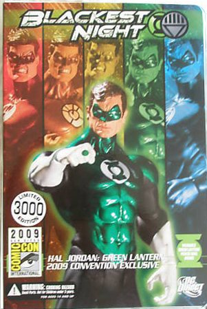 DC Direct Green Lantern Blackest Night 2009 SDCC San Diego ComicCon Exclusive Action Figure Hal Jordan GREEN Lantern