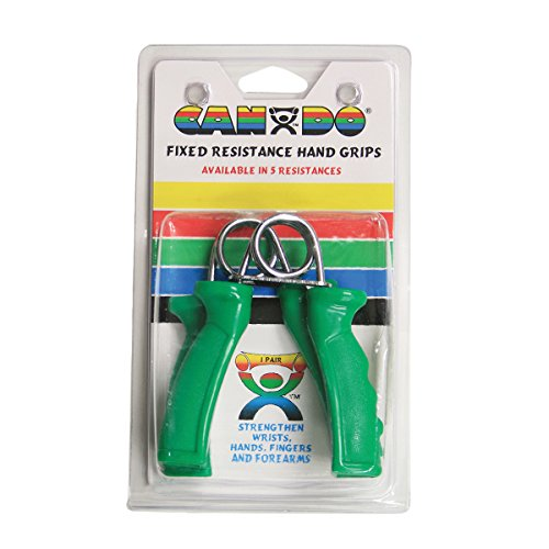 CanDo Ergogrip Exerciser, Green, Medium