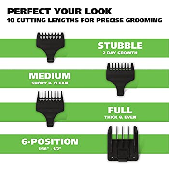 Wahl Clipper Groomsman Cordcordless Beard Trimmers For Men, Hair Clippers & Shavers, Rechargeable Men's Grooming Kit, Gifts For Husband Boyfriend, By The Brand Used By Professionals # 9918-6171 12