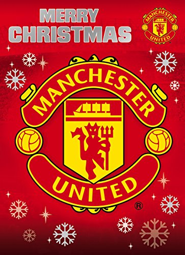 Manchester United FC Christmas Card