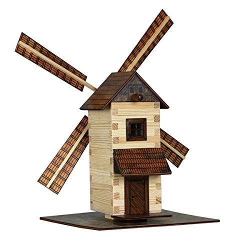 Walachia 8594036430150 Moulin A Vent En Bois Kit De Construction