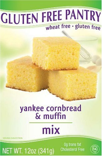 The Gluten-Free Pantry Yankee Cornbread Mix, 12-Ounce Boxes (Pack of 6)