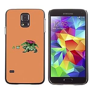 Stuss Case / Funda Carcasa protectora - Divertido P0kemon - Samsung Galaxy S5