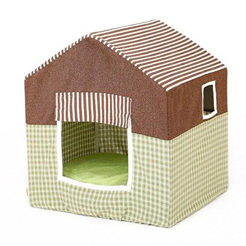 STAZSX Casa para perros extraíble y lavable Cuatro estaciones Suministros para mascotas Caseta de perro Yurt Gato gatito...