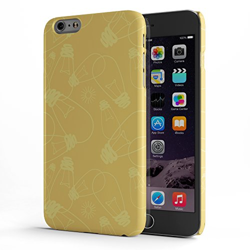 Koveru Back Cover Case for Apple iPhone 6 Plus - Dancing Wolf Bulbs Everywhere