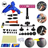 FLY5D Home Use DIY Auto&Car Paintless Dent Repair Tools Dent Removal Puller Kit