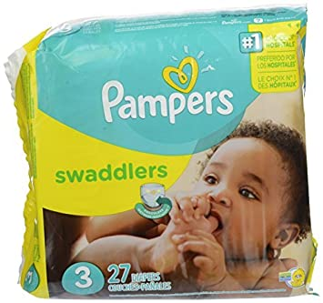 pampers swaddlers diapers size 3 27 ct model 37000863441 baby
