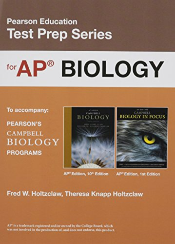 Product picture for Preparing for the Biology AP* Exam (School Edition) (Pearson Education Test Prep) by Jane B. Reece