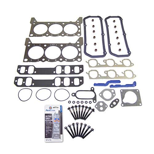 Head Gasket Set Bolt Kit Fits: 89-93 Ford Thunderbird Mercury 3.8L VIN C,R SUPERCHARGED