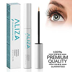 SILKSENCE Eyelash Growth Serum- Eyelash Enhancer Lash Eyebrow Growth Serum for Longer and Thicker Eyelash, Fuller and Healthier Eyebrow, 100% Natural