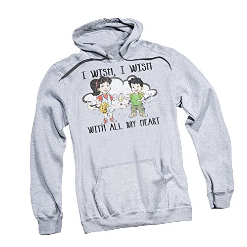 """...I Wish With All My Heart"" -- Dragon Tales Adult Hoodie Sweatshirt"