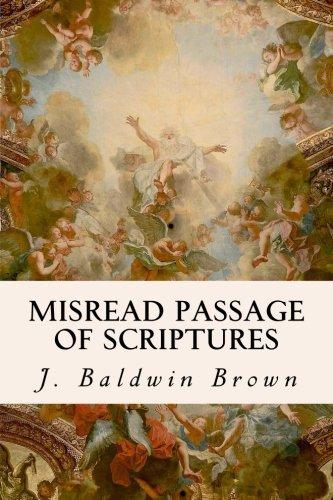 Misread Passage of Scriptures