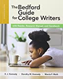 img - for The Bedford Guide for College Writers with Reader, Research Manual and Handbook book / textbook / text book