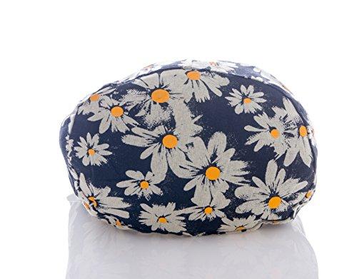 Sling Hippie Crossbody Hobo Chrysanthemum Bohemian Black Purse Messenger Bag Thai Avarada Cotton Pattern x1IxE