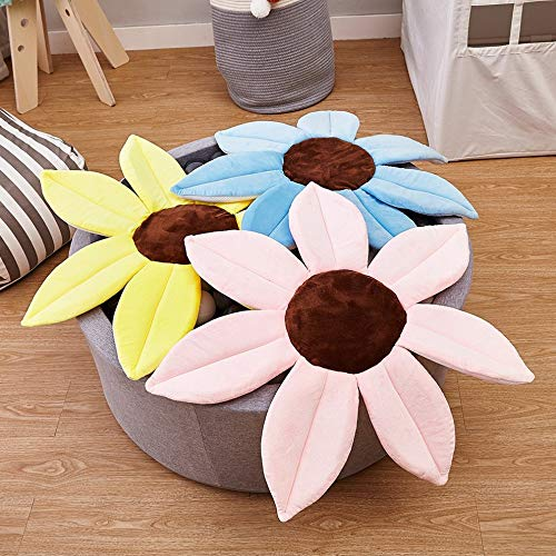 Rengzun Baby Flower Bath Pad Support Lounger Foldable Plus Non-Slip Floating Cushion Seat Mat for Newborn Bathing in Sink