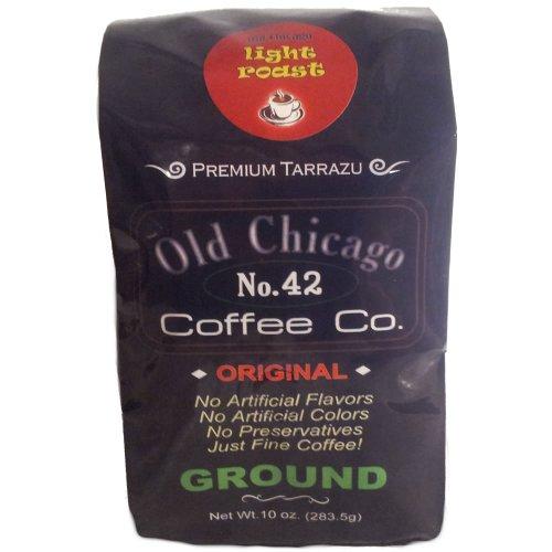 Old Chicago Coffee - Original Light Roast Ground - No. 42 Brand From Costa Rica
