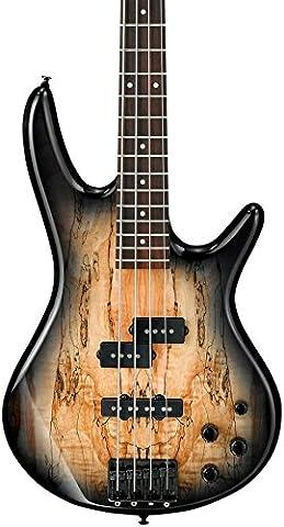 Ibanez GSR200SM 4-String Electric Bass Guitar, GSR4 Maple Neck, Rosewood Fretboard, Natural Gray (Ibanez Bass Gsr200sm)